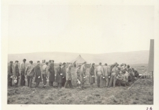 <h5>Field Mess</h5><p>Field mess, Welsh moors. Photo provided by the family of Elmore Willets. </p>