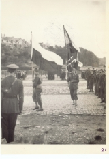 <h5>Parade</h5><p>Parade in Denbigh, Wales. Photo provided by the family of Elmore Willets. </p>