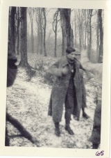 <h5>Combat</h5><p>Capture of a German prisoner. Photo provided by the family of Elmore Willets.</p>