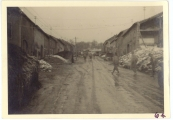 <h5>Combat</h5><p>Kerlingen, Main Street. Photo provided by the family of Elmore Willets.</p>