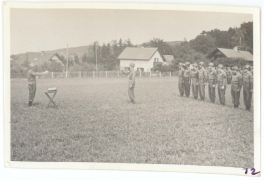 <h5>Occupation</h5><p>Formation. Army of Occupation (Bavaria, Germany).  Photo provided by the Willets family. </p>