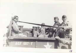 <h5>Training</h5><p>Group in truck. Photo provided by the Willets family.</p>