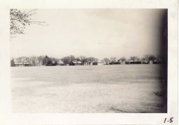 <h5>Training</h5><p>View of camp parade ground. Photo provided by the Willets family.</p>
