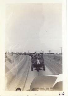 <h5>Training</h5><p>Convoy. Field pieces in tow. Photo provided by the Willets family.</p>
