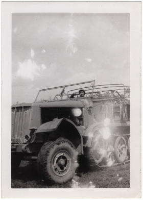 <h5>German Truck</h5><p>Captured vehicle. Provided by the family of Ivo Schommer.</p>