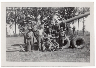 <h5>Firing Squad</h5><p>Firing squad B Battery. Photo provided by family of Ivo Schommer.</p>
